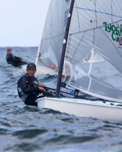 Jan Kurfeld siegte im Finn