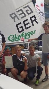 Deutsche Juniorenmeisterschaften der Laser und der 470er