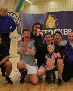 """Gewinner des Fußballturniers """"Laser Team all over the World"""" vom Warnemünder Segel-Club"""