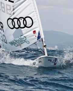 Zweiter Olympiatest zur Kieler Woche für Segler aus dem Glashäger Leistungs Team: