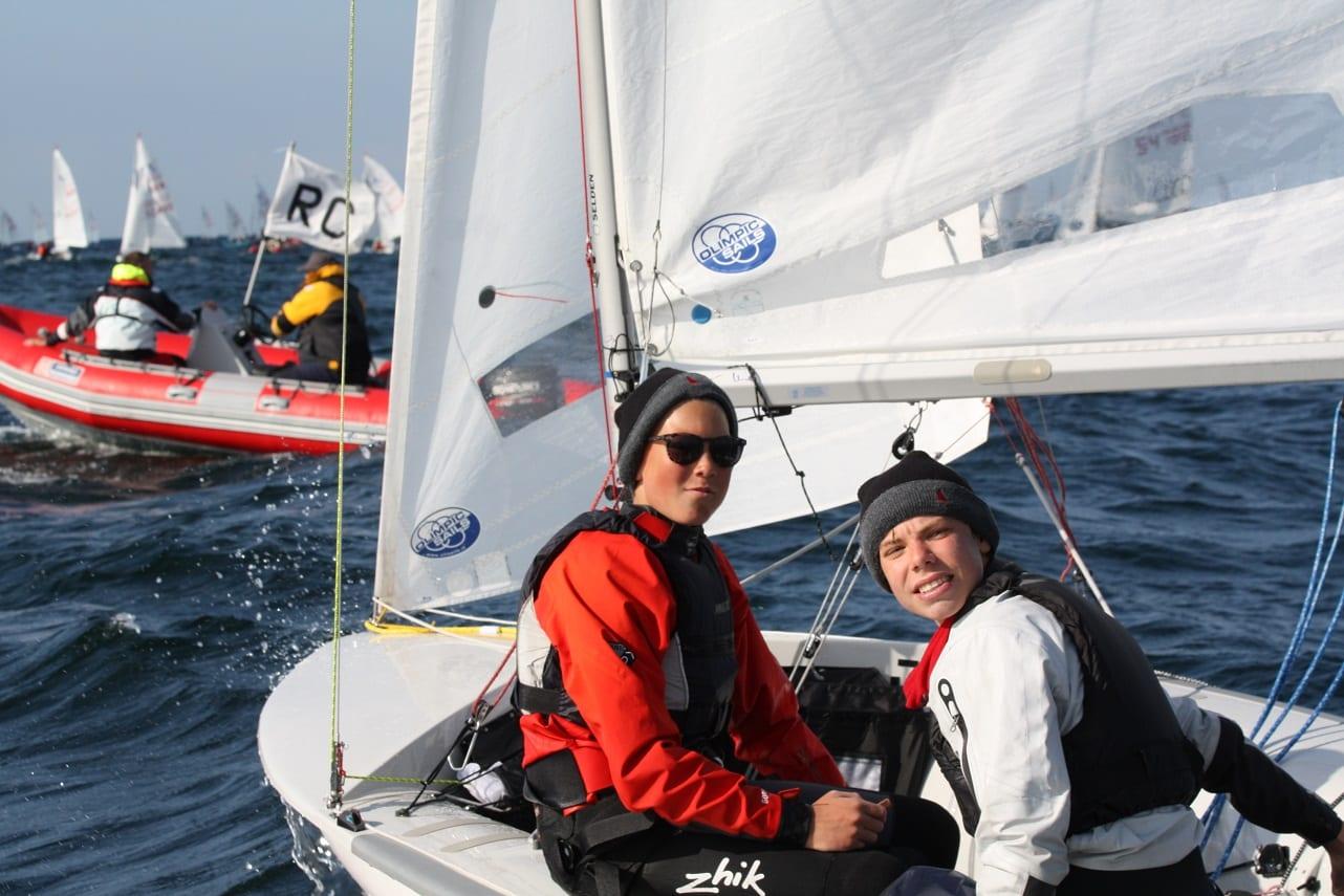 Lennart Kuß und Paul Arp