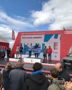 Riesenerfolg für das 420er Team Lennart Kuss/Paul Arp bei der Kieler Woche