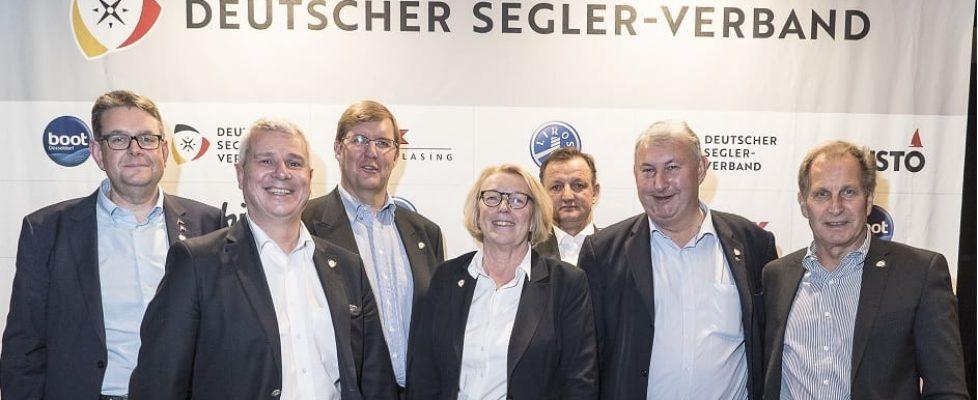Das neue DSV-Präsidium ©Sven Jürgensen_Aus